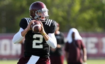 NCAA Football: Texas A&M-Practice